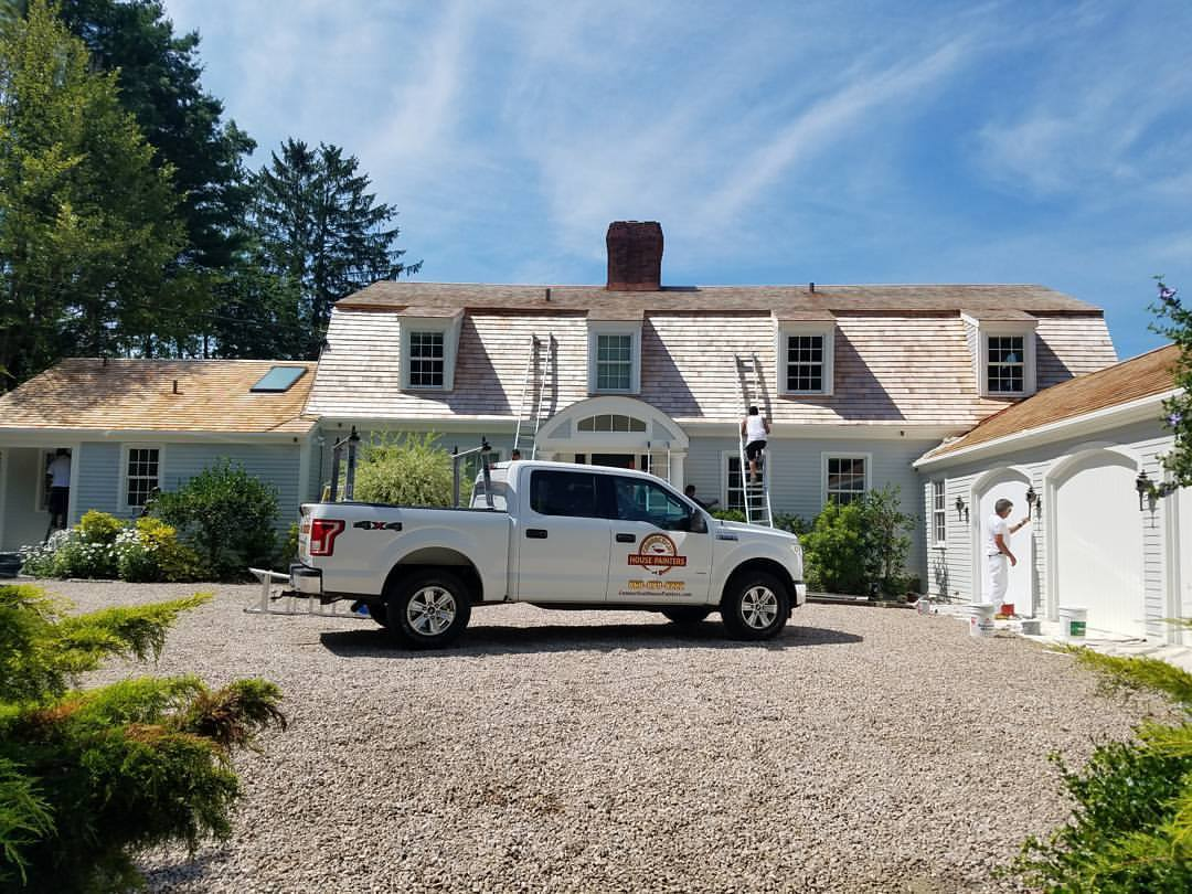 Exterior House Painting Old Mystic CT