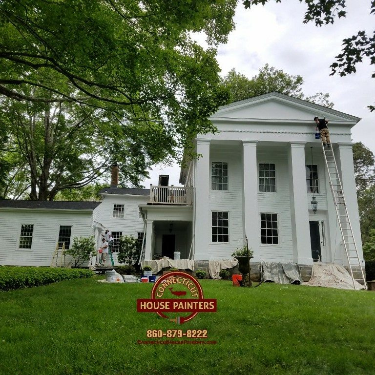 Exterior House Painting  Old Lyme CT