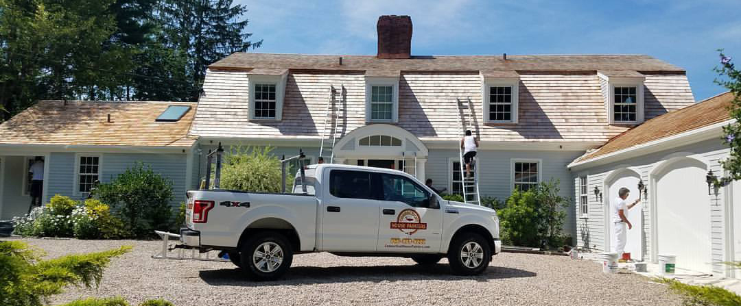 Painters in Block Island, Rhode Island