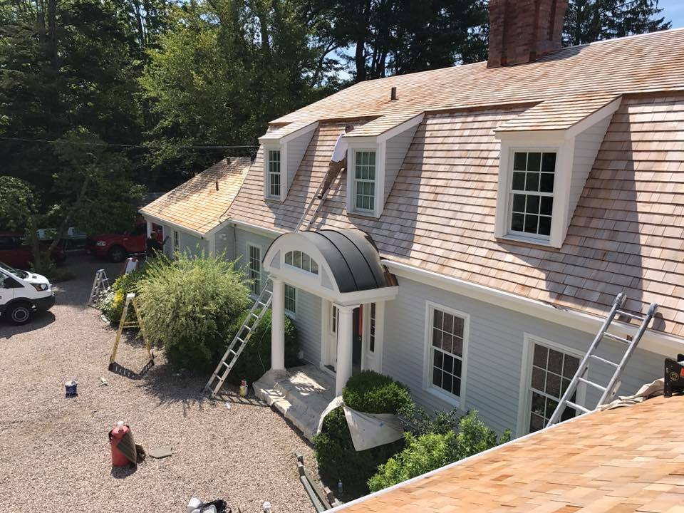 Exterior Painters near me New London, CT