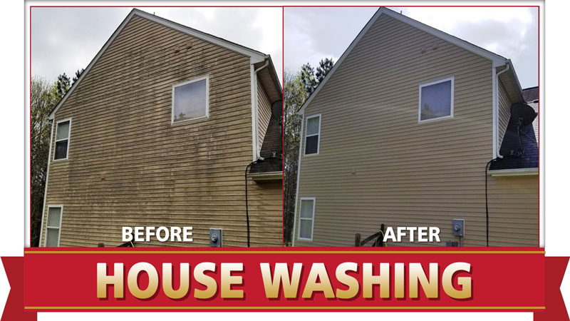Power Washing Service in Voluntown, CT