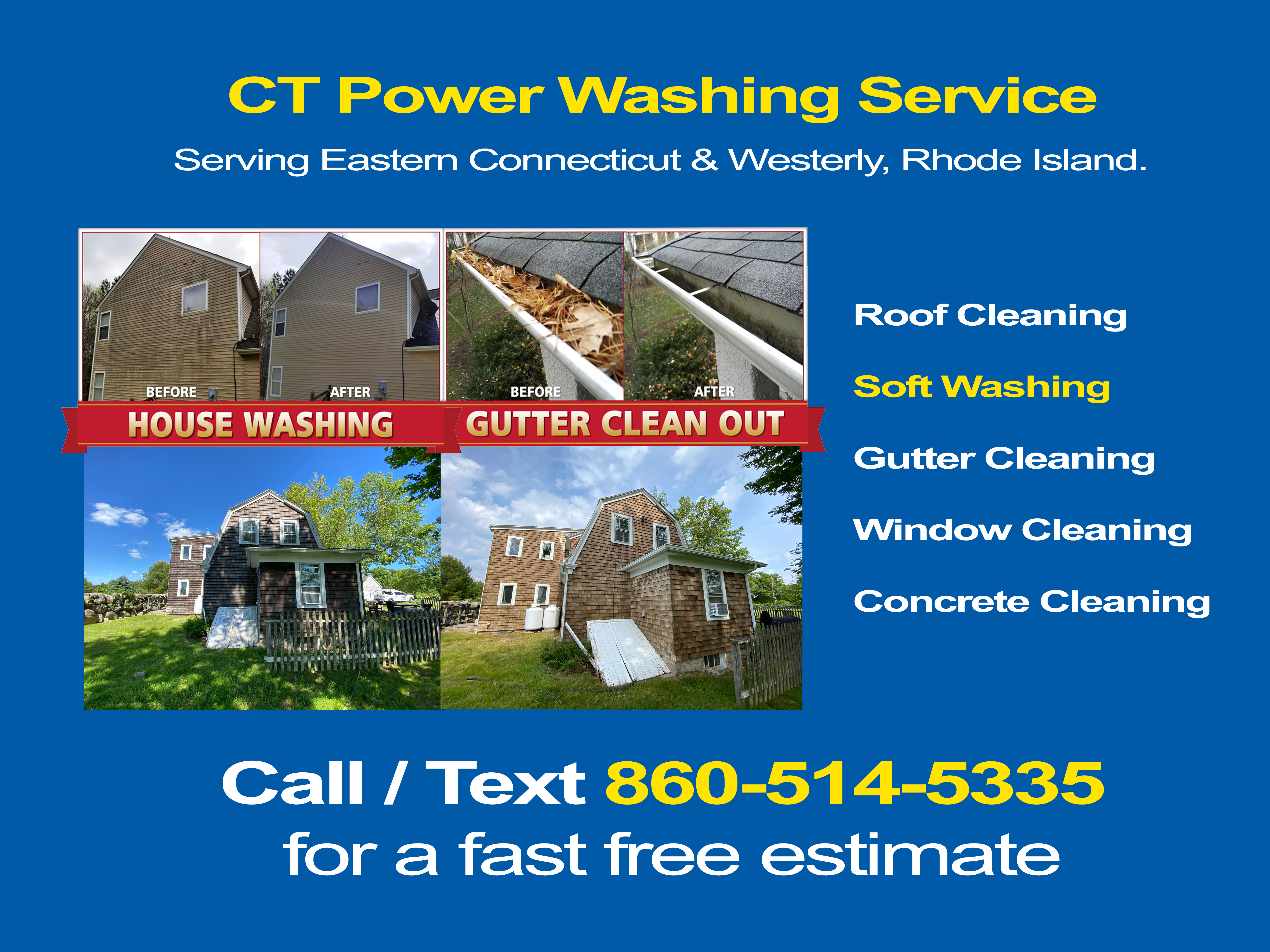 Power Washing in North Westchester, Connecticut